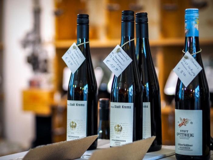 Weinwerkstatt Event im Hofquartier