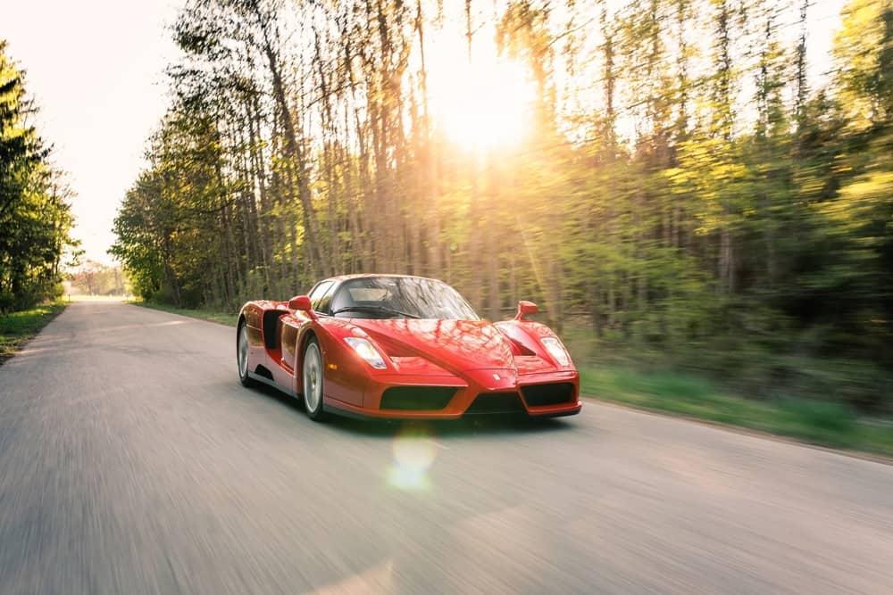 Schaltkulisse-Ferrari