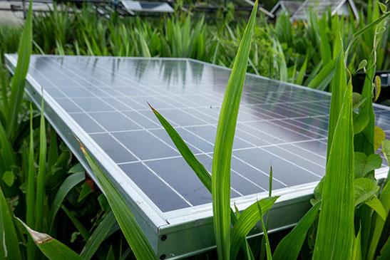 Solaranlage am Hofquartier