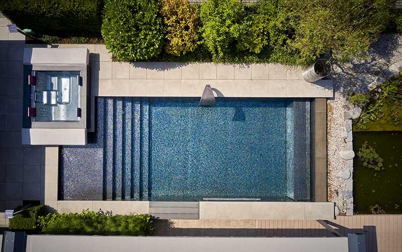 Trends im Hausbau Pool